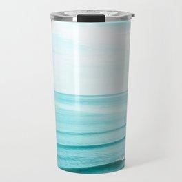 Minimal Beach Travel Mug