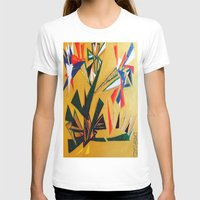 oakland T-shirts featuring Oakland Wall Flower by Oakland.Style