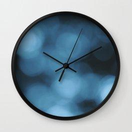 Blue Abstract 1 Wall Clock