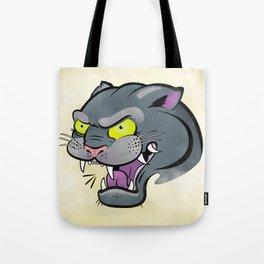 Panther Tattoo Flash Tote Bag