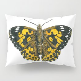 Painted lady butterfly Pillow Sham