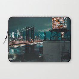 The Water Tower New York City (Color) Laptop Sleeve