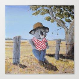 Aussie Koala Canvas Print