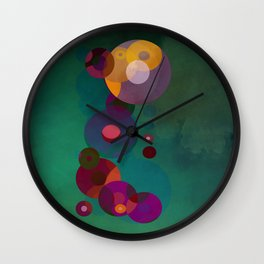 Fury Wall Clock