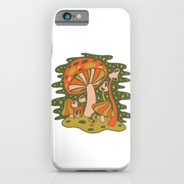Forest of Mushrooms iPhone Case