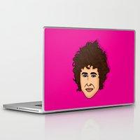 bob dylan Laptop & iPad Skins featuring Bob Dylan  by Chelsea Herrick