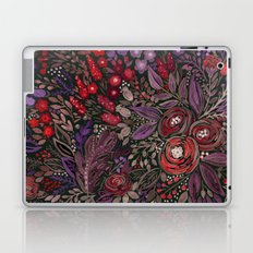 Watercolor floral illustration Laptop & iPad Skin