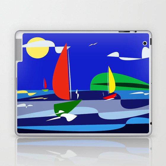 summer sail Laptop & iPad Skin