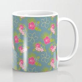hawaiian floral Coffee Mug