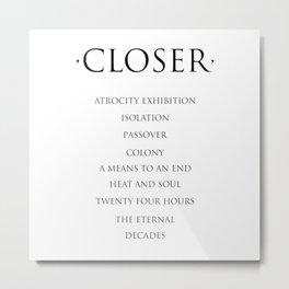 Closer Metal Print