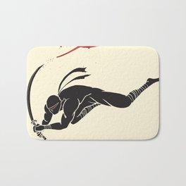 Ninja! Heads will roll! Bath Mat