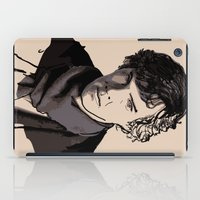 sherlock iPad Cases featuring Sherlock by joshuahillustration