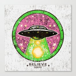 UFO SERPO Canvas Print