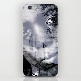 """""""Journey Of The Mind: Blk & Wht 2"""" iPhone Skin"""