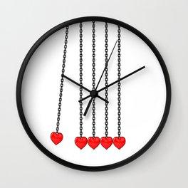 Perpetual Heart Wall Clock