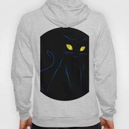 Cats aren't always on time Hoody