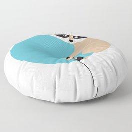 Elliot et son voyage fantastique - Raton laveur Floor Pillow