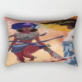 Afro  Ninjas Rectangular Pillow