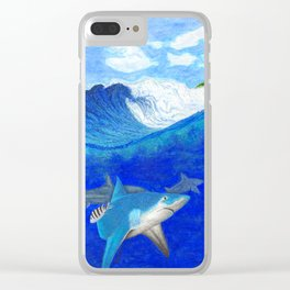Waterman's Folly Clear iPhone Case