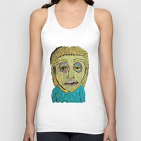 cigarettes Tank Tops featuring cigarettes and food  by Samantha Sager