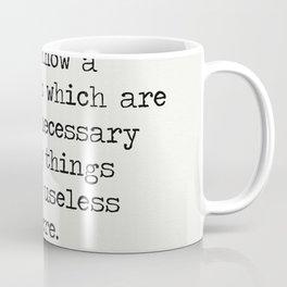 RALPH WALDO EMERSON QUOTES 9 Coffee Mug