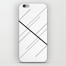 Lines of Me iPhone Skin