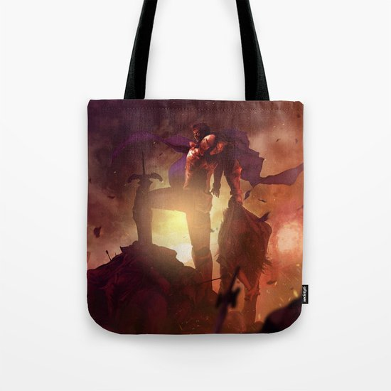 Luca Blight the Beast of Suikoden II Tote Bag