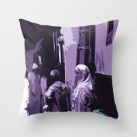 arab Throw Pillows featuring Arab World by Sergio Silva Santos