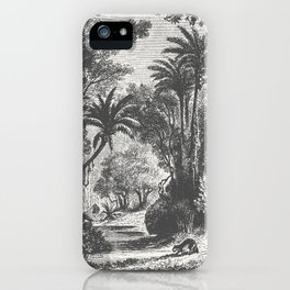 Indian Jungle iPhone Case