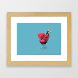 Coupe-faim // Appetite-suppressant Framed Art Print