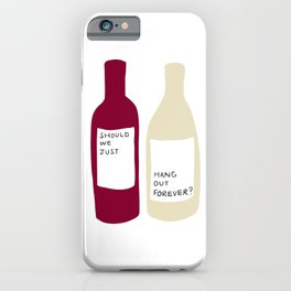 Love wine iPhone Case