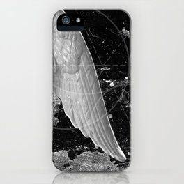 A Very Old Man with Enormous Wings iPhone Case