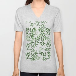 Branching out greenery Unisex V-Neck