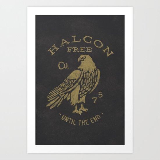 HALCON Art Print