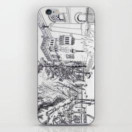 Spanish Palace (line) iPhone Skin