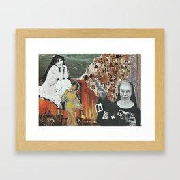 Sister Framed Art Print