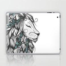 Poetic Lion Turquoise Laptop & iPad Skin