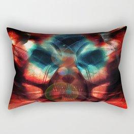 Six A.M. Orbs Rectangular Pillow