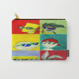 90s Cool Kids Carry-All Pouch