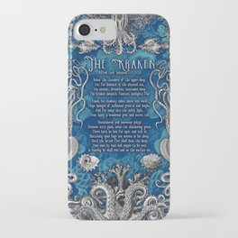 The Kraken (Blue) iPhone Case