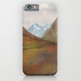 Arran, Scottish landscape by Lu iPhone Case