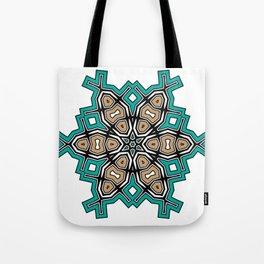 abstract maya mandala Tote Bag