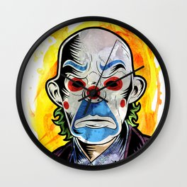 I believe whatever doesn't kill you simply makes you... stranger Wall Clock