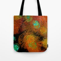 fireworks Tote Bags featuring Fireworks by Imagology