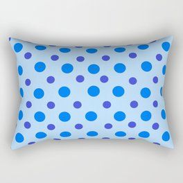 Polka Dots Rectangular Pillow