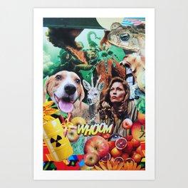 Whoom! Art Print