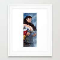 hero Framed Art Prints featuring Hero by Chris Casciano