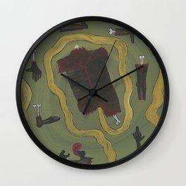 Dismembered Wall Clock