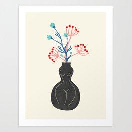 L' amante Art Print
