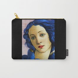 Venus In Blue Carry-All Pouch